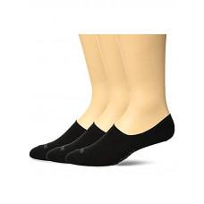 Hurley ONE&ONLY NO SHOW 3 P BLACK/GREY HTR dámské kotníkové ponožky - L