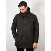 RVCA GROUND CONTROL PIRATE BLACK zimní bunda pánská - S