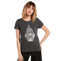 Volcom Radical Daze CHARCOAL dámské tričko s krátkým rukávem - M