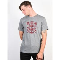 Element PIONEERS grey heather pánské tričko s krátkým rukávem - L