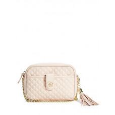 GUESS kabelka Classic Quilted Mini Cross-Body růžová vel.