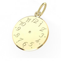 Zlato Zlatý přívěsek Křticí hodiny 3220042