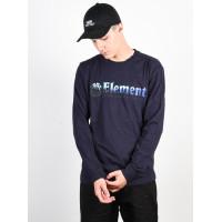 Element GLIMPSE HORIZONTAL ECLIPSE NAVY pánské tričko s dlouhým rukávem - XL