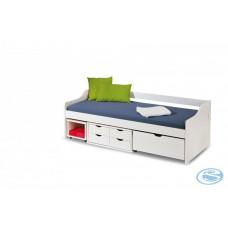 Dětská postel Floro 2 bílá - HALMAR