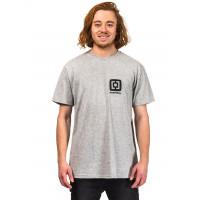 Horsefeathers MINI LOGO ASH pánské tričko s krátkým rukávem - M
