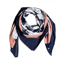 Roxy BRIGHT SPACE MOOD INDIGO FLYING FLOWERS šátek na hlavu dámský