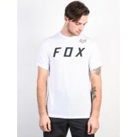 Fox Grizzled OPTIC WHITE pánské tričko s krátkým rukávem - S
