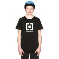Horsefeathers BASE black dětské tričko s krátkým rukávem - XL