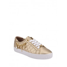 GUESS tenisky Graslin Quilted Charm Sneakers zlaté vel. 38,5
