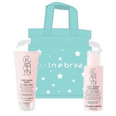 Inebrya Karyn minisize Xmas duopack (Deep Shine Shampoo 100ml + Mask 100ml + Xmas Bag)