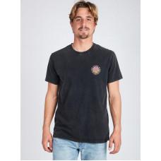 Billabong PSYCADELS black pánské tričko s krátkým rukávem - L