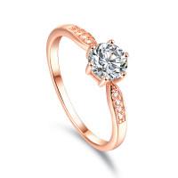 OLIVIE Zásnubní stříbrný prsten DESSERT 5082 Velikost prstenů: 7 (EU: 54-56)