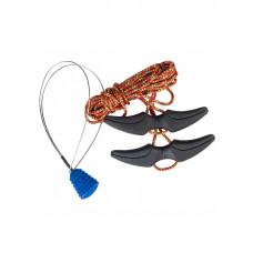 Burton SPEED ZONE RED/YELL tkaničky do snowboardových bot