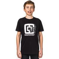 Horsefeathers HFTV black dětské tričko s krátkým rukávem - XL