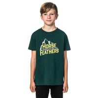 Horsefeathers SLANT bistro green dětské tričko s krátkým rukávem - M