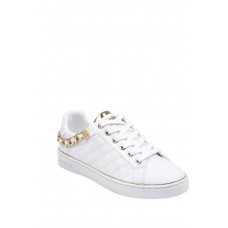 GUESS tenisky Brisco quilted low-top sneakers bílé vel. 41