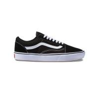 Vans ComfyCush Old Skool (CLASSIC) BLACK/TRUE WHIT pánské letní boty - 40EUR
