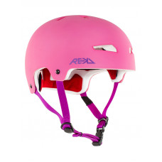 REKD Elite PINK/PURPLE skate board přilba - M
