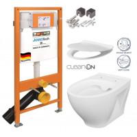 JOMO - SET JOMO Duofix modul pro závěsné WC + montážní sada + sedátko + WC CERSANIT CLEANON MODUO (174-91100700-00 MO1)