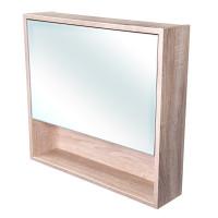CEDERIKA - Amsterdam galerka 1x výklopné barva zrcadlo v AL rámu korpus korpus Dub bardolino šíře 75 (CA.G1V.194.075)