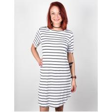 Element REMY white společenské šaty krátké - S