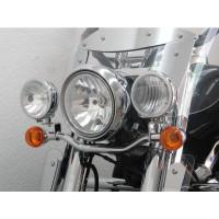 rampa na přídavná světla Fehling Kawasaki VN 1700 Classic 09- chrom - Fehling Ernest GmbH a Co. 6019LHKA