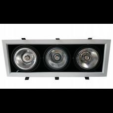 Esyst s.r.o. LED zápustné svítidlo Venture, 36W, teplá bílá