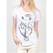 Ezekiel Sink Or Swim HWHT dámské tričko s krátkým rukávem - L
