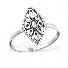 OLIVIE Stříbrný prsten MARQUISE 1022 Velikost prstenů: 6 (EU: 51 - 53)