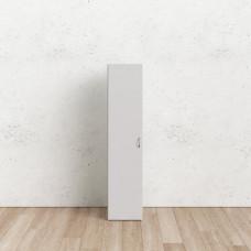 Bílá jednodveřová skříň Space 70436 - TVI
