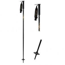 Freeski hůlky LINE Wallischtick black 17/18 Délka hůlek: 100cm
