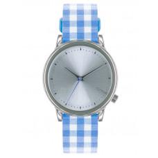 Komono ESTELLE VICHY blue dámské hodinky analogové