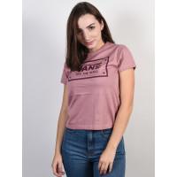Vans BOOM BOOM UNITY NOSTALGIA ROSE dámské tričko s krátkým rukávem - S
