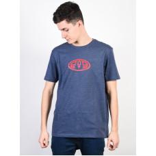 Animal LISTER DARK NAVY MARL pánské tričko s krátkým rukávem - M
