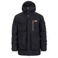 Horsefeathers HERALD black zimní bunda pánská - S