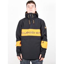 Quiksilver STEEZE TRUE BLACK zimní bunda pánská - XL