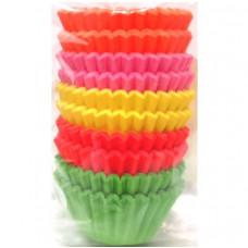Košíčky cukrářské, barevné 25x18 mm, 200 ks