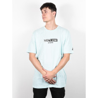 Volcom For Never Resin Blue pánské tričko s krátkým rukávem - XL