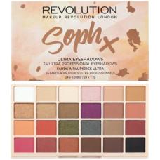 Makeup Revolution London Soph x Ultra Eyeshadows 26,4g