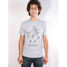 Altamont SPORTS FAN GREY/HEATHER pánské tričko s krátkým rukávem - L