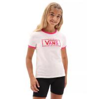Vans LOLA VANS COOL PINK/FCHSIAPRPL dětské tričko s krátkým rukávem - M
