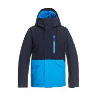 Quiksilver MISSION SOLID BRILLIANT BLUE dětská zimní bunda - L/14