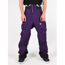 Picture Object 20/15 DARK PURPLE pánské kalhoty na snb - L