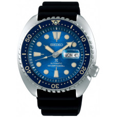 "Seiko Prospex Sea Automatic Diver's SRPE07K1 Save the Ocean Great White Shark Special Edition ""Turtle"""