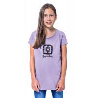 Horsefeathers NICKI wisteria dětské tričko s krátkým rukávem - L