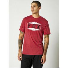 Fox Emblem Tech chilli pánské tričko s krátkým rukávem - M