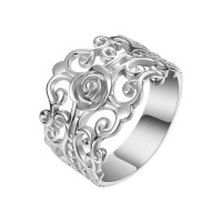 OLIVIE FILIGRÁN stříbrný prsten 4300 Velikost prstenů: 12 (EU: 68 - 70), Barva: Střbrná