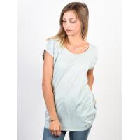 Billabong ALL NIGHT CLOUD BLUE dámské tričko s krátkým rukávem - L