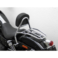 opěrka řidiče s nosičem Fehling Harley Davidson Dyna Wide Glide 10- chrom - Fehling Ernest GmbH a Co. 6039FRGH