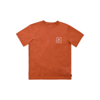 RVCA VA ALL THE WAYS TERRACOTA pánské tričko s krátkým rukávem - M